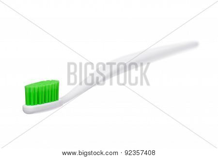 Toothbrush On A White Background