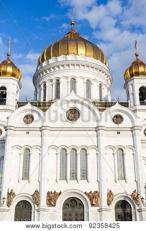 Christ The Savior Cathedral. Moscow.