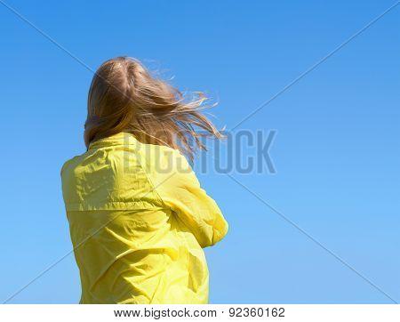 Hair Girls Flyaway In The Wind