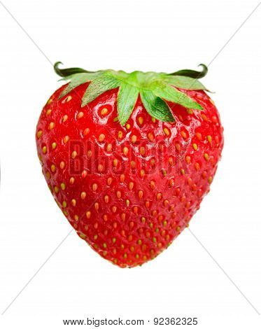 Symbol Of Temptation. Strawberries With Horns.