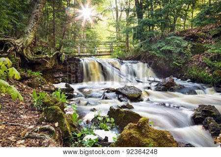 Upper Chapel Falls - Pictured Rocks National Lakeshore
