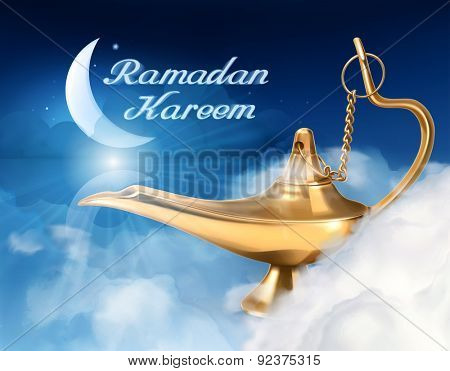 Ramadan kareem, vector background