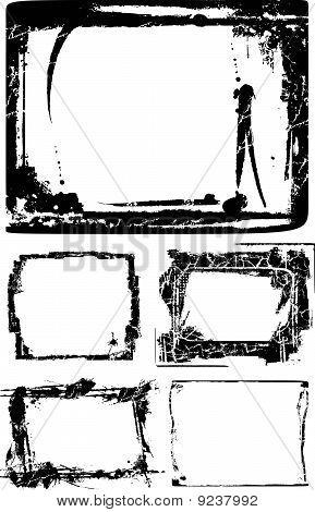 retro frame illustraion