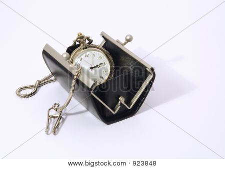Pocket Watch Into Purse