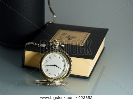 Pocket Watch And Book (Polloq)