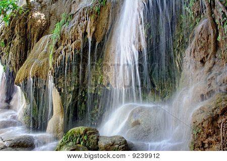 Sai Yok waterfall.