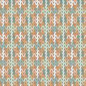 pic of knitwear  - Beautiful geometric pattern Knitwear - JPG