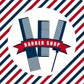 picture of barbershop  - Barbershop icons design  - JPG