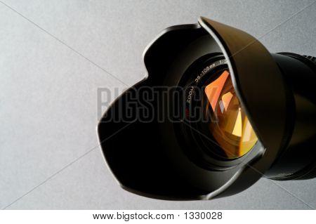 Zoom Camera Lens Closeup