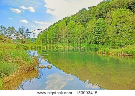 River Brenz - Valley Eselsburger Tal