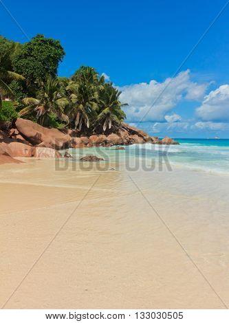 Breaking Big Waves Rocky Beach