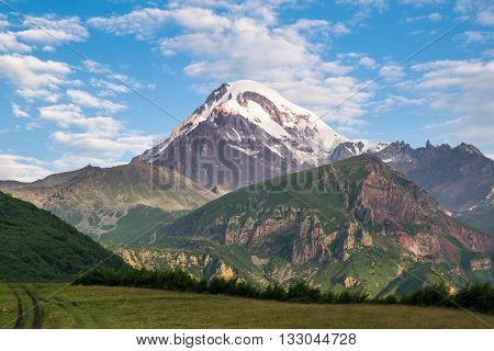 view of the highest peak in Georgia