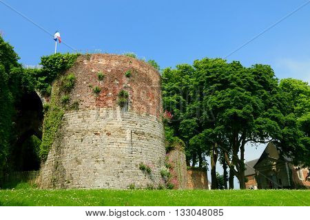 CITADEL OF MONTREUIL ON SEA, PAS DE CALAIS, THE NORTH OF FRANCE