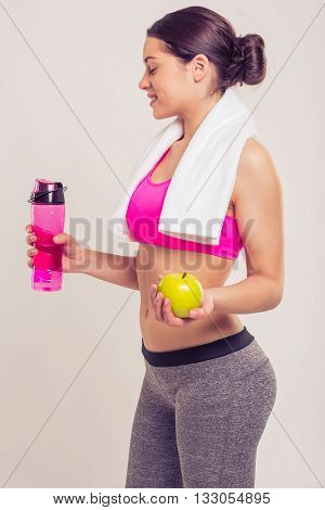 Attractive Sports Girl