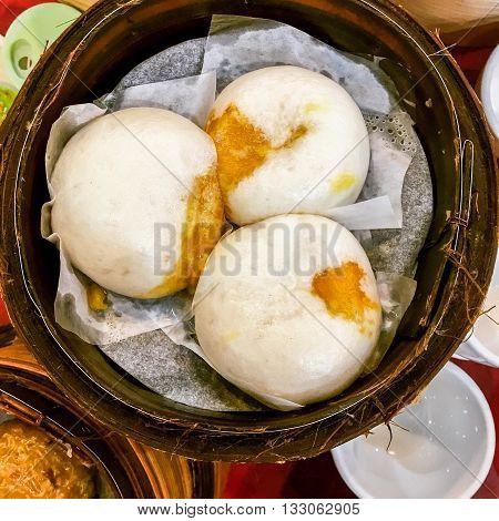 Cream Buns Steamed Dumpling