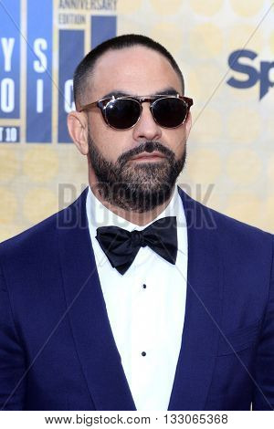 LOS ANGELES - JUN 4:  Chris Nunez at the 10th Annual Guys Choice Awards at the Sony Pictures Studios on June 4, 2016 in Culver City, CA