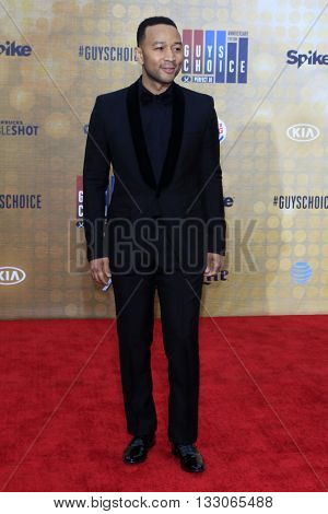 LOS ANGELES - JUN 4:  John Legend at the 10th Annual Guys Choice Awards at the Sony Pictures Studios on June 4, 2016 in Culver City, CA