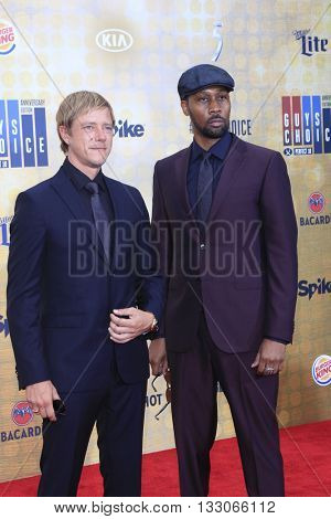 LOS ANGELES - JUN 4:  Paul Banks, RZA at the 10th Annual Guys Choice Awards at the Sony Pictures Studios on June 4, 2016 in Culver City, CA