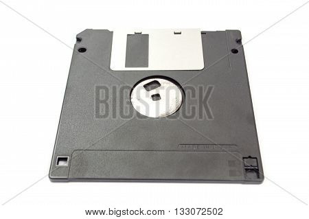 Floppy Disk Isolated On White Background