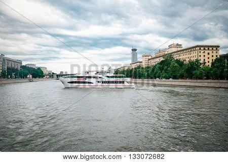 Ship On Moskva River