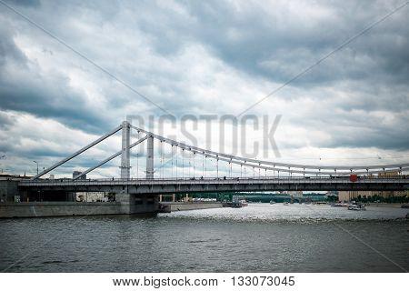 Krymsky And Andreevsky Bridges
