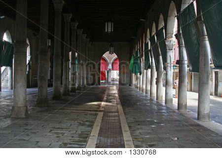 Fish Market Of Rialto Venice Italy