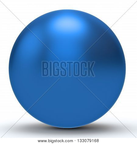 3D Blue Sphere