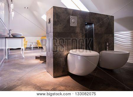 Spacious Luxurious Bathroom