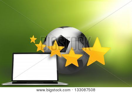 Football Soccer Ball graphic illustration modern image design