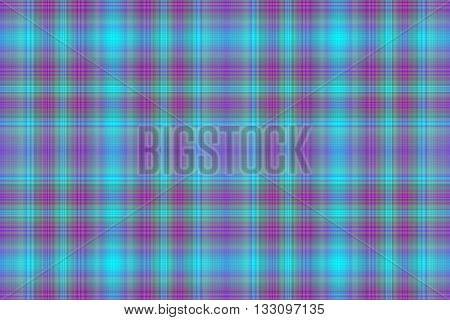 Illustration of cyan blue and purple checkered pattern
