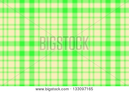 Illustration of green and vanilla colored checkered pattern