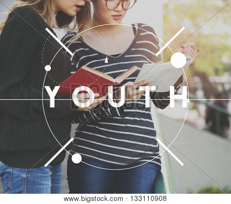 Youth Young Teenager Generation Age Concept