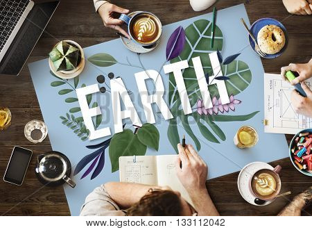 Eco Friendly Earth Day Green Environment Concept
