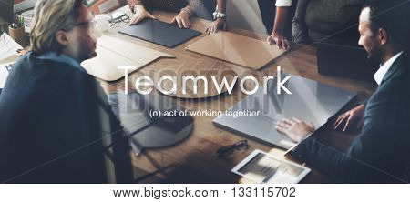 Teamwork Alliance Collaboration Company Team Concept