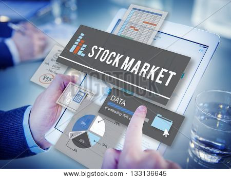 Stock Market Finance Exchange Economy Money Concept