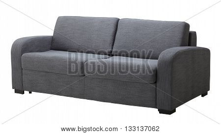 Grey Sofa Isolated