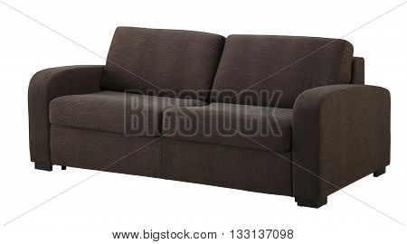 Brown Sofa  Isolated