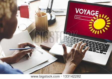 Voyage Journey Travel Adventure Concept