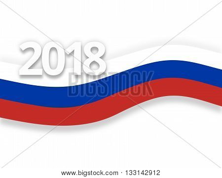 Russian Banner 2018 graphic illustration image design