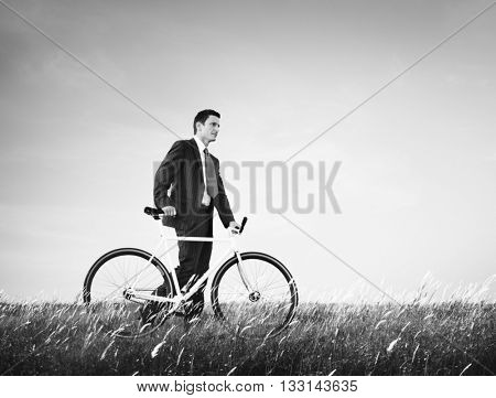 Bicycle Bike Business Energy Saving Conservative Concept