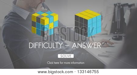 Difficulty Answer Solution Solving Strategy Result Concept