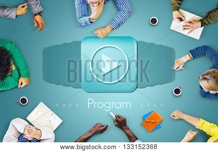 Program Schedule Technology Application Agenda Concept