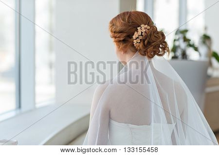 Red Hair Of The Bride