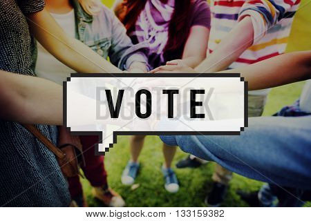 Vote Voting Choice Election Participation Concept