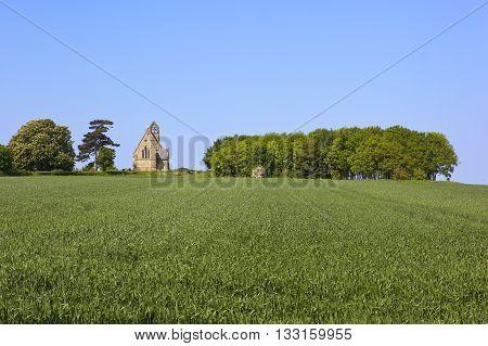 Small English Church