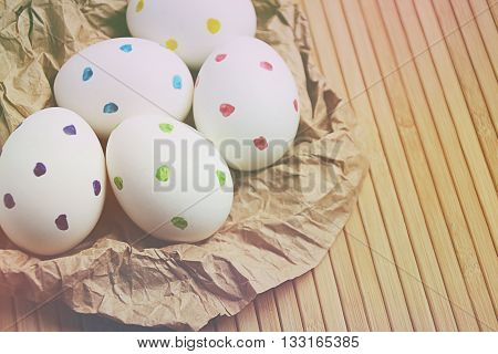 Easter Eggs Matte Trendy Blur Spring Time 11