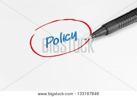 Policy Text - Business Concept