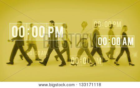 Its Time Punctual Deadline Management Lifetime Concept