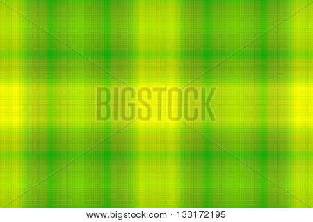 Illustration of green and yellow checkered pattern