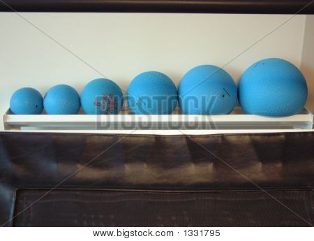 Weight Ball Line Up